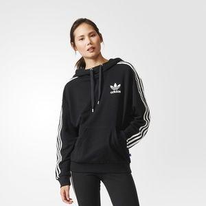 khloe kardashian grey adidas hoodie